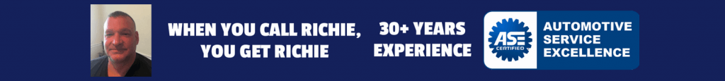 Richie's Auto Tech - 30 Years Of Experience ASE Certified